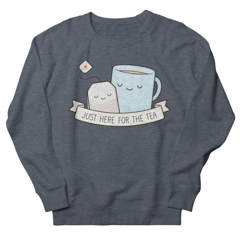 Just Here For The Tea Women's Sweatshirt by Kim Vervuurt