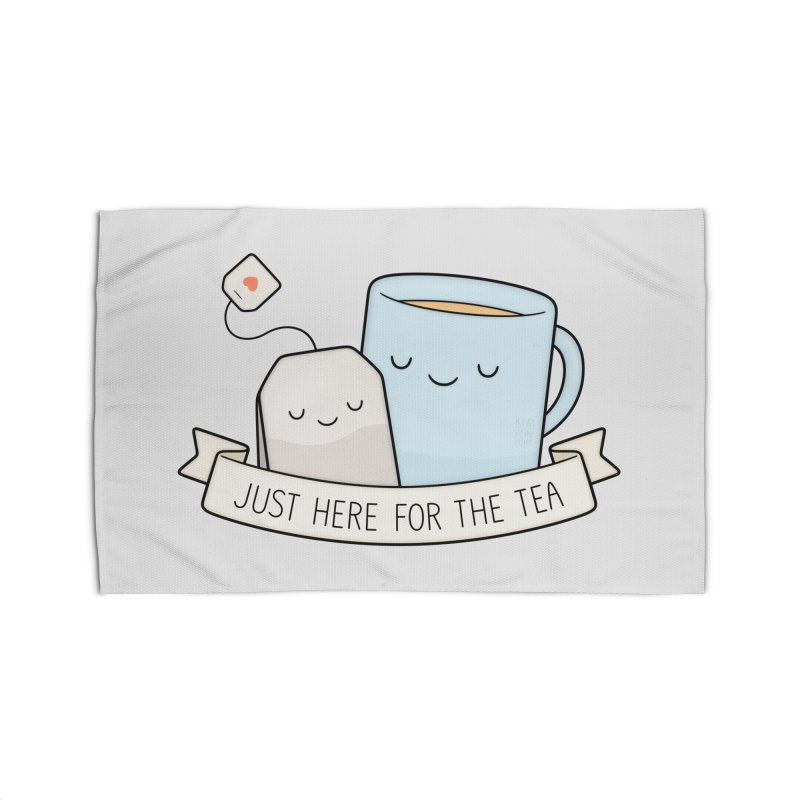 Just Here For The Tea Home Rug by Kim Vervuurt