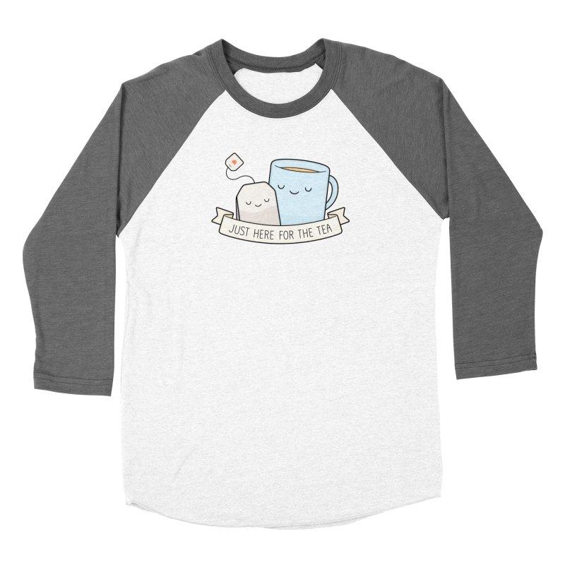 Just Here For The Tea Women's Longsleeve T-Shirt by Kim Vervuurt