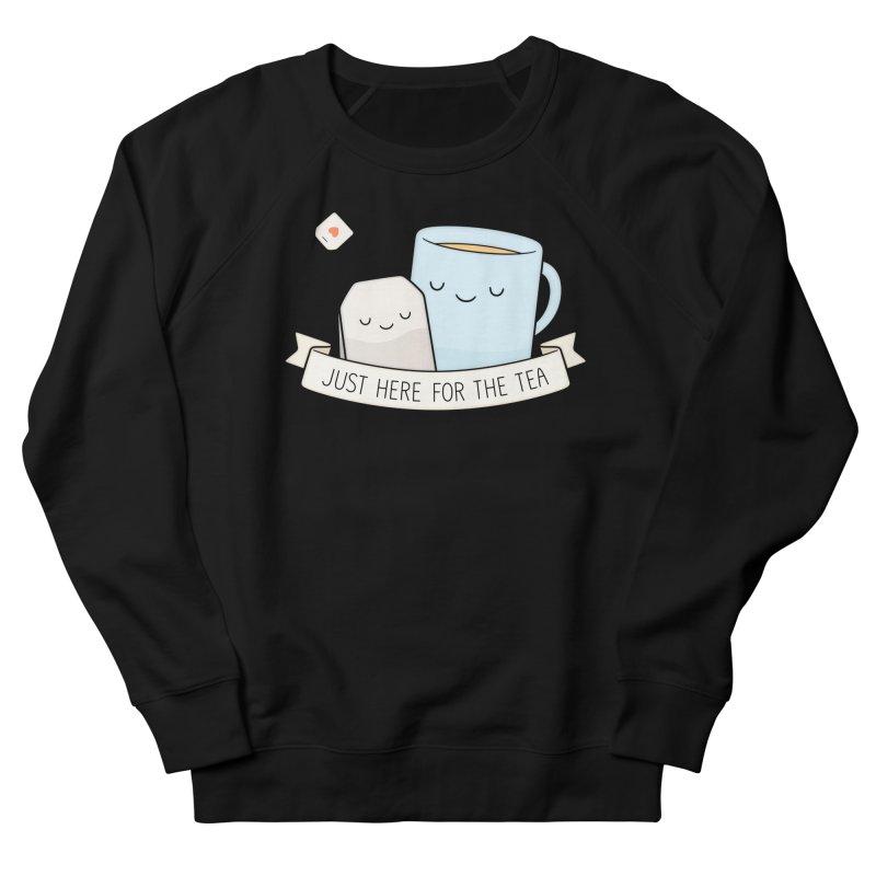 Just Here For The Tea Men's Sweatshirt by Kim Vervuurt