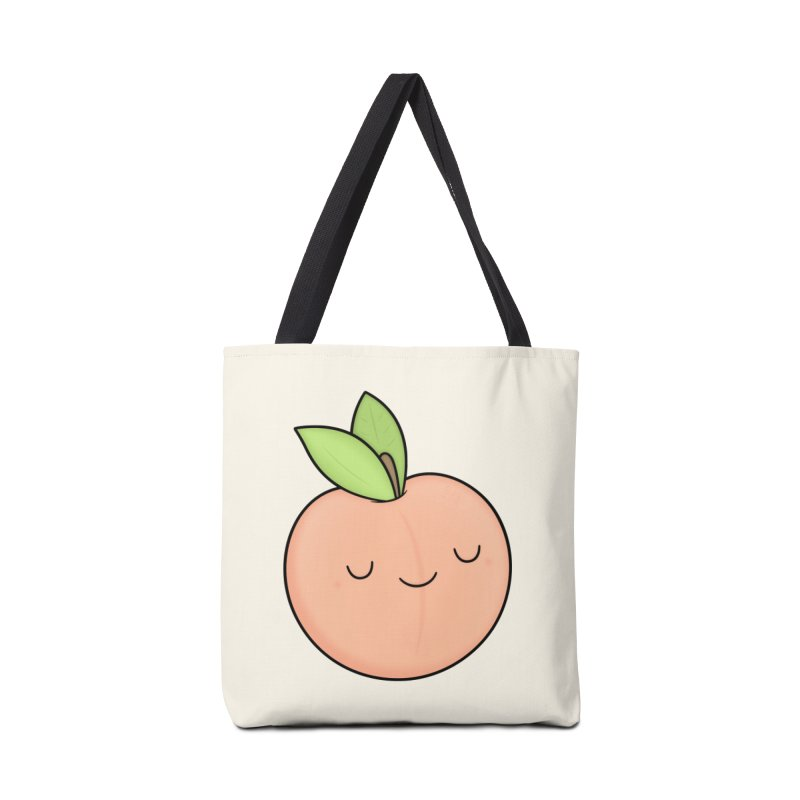 Peach! Accessories Tote Bag Bag by Kim Vervuurt
