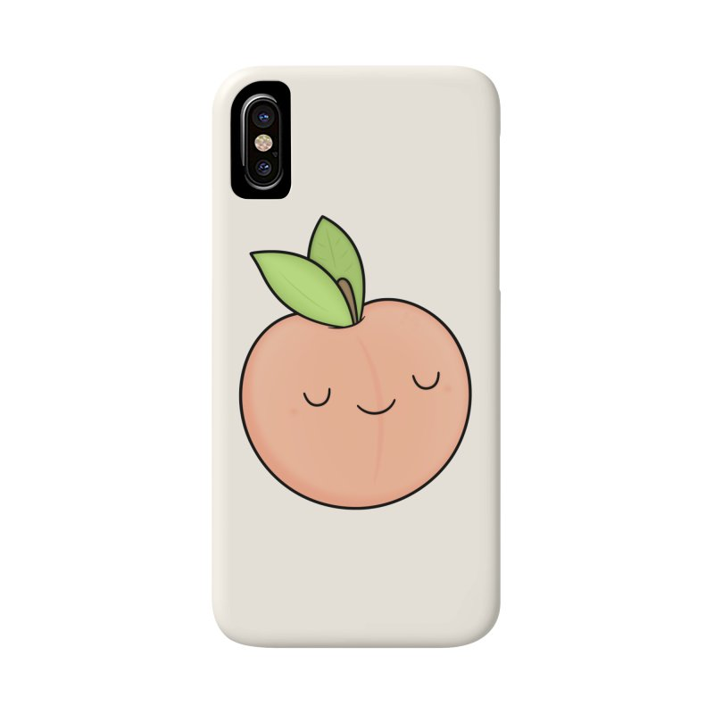 Peach! Accessories Phone Case by Kim Vervuurt