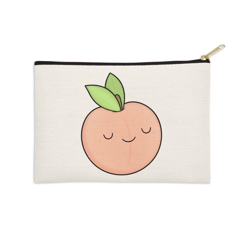 Peach! Accessories Zip Pouch by Kim Vervuurt
