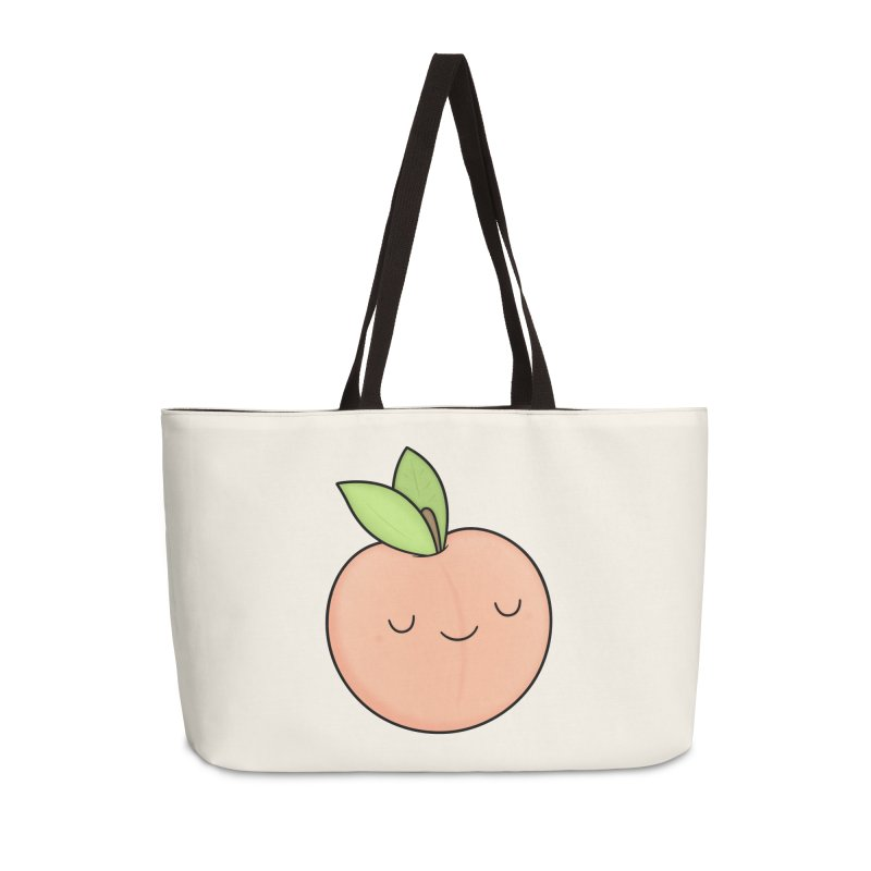 Peach! Accessories Weekender Bag Bag by Kim Vervuurt