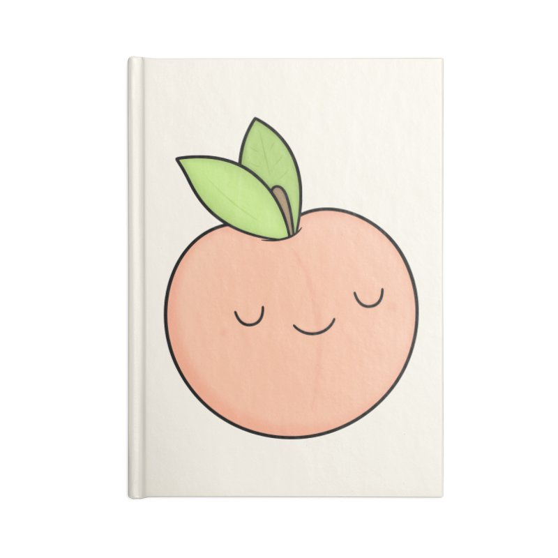 Peach! Accessories Blank Journal Notebook by Kim Vervuurt