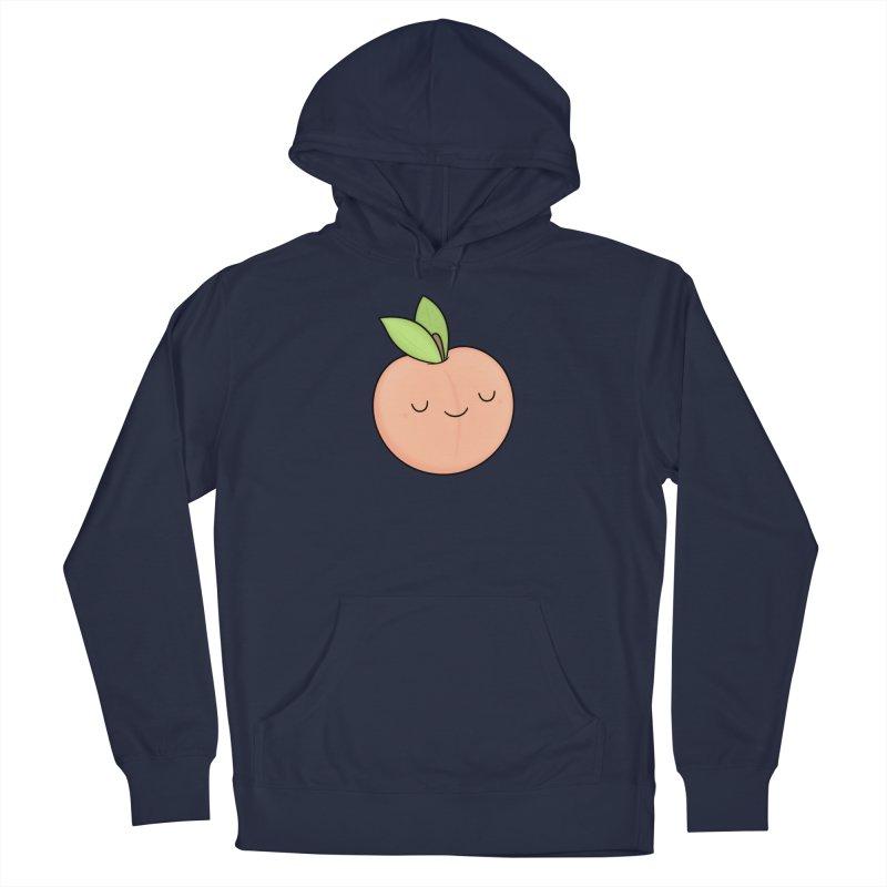 Peach! Men's Pullover Hoody by Kim Vervuurt