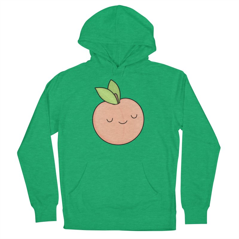 Peach! Women's French Terry Pullover Hoody by Kim Vervuurt