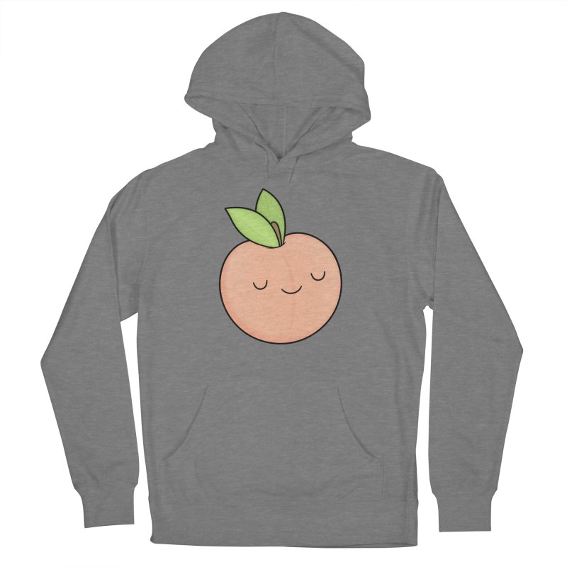 Peach! Women's Pullover Hoody by Kim Vervuurt