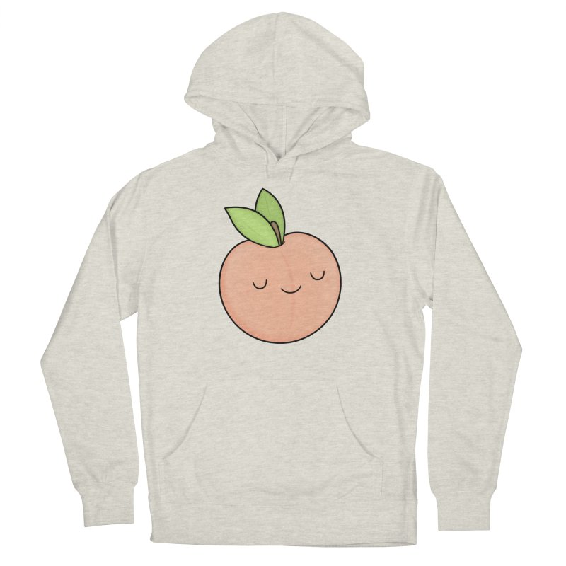 Peach! Men's French Terry Pullover Hoody by Kim Vervuurt