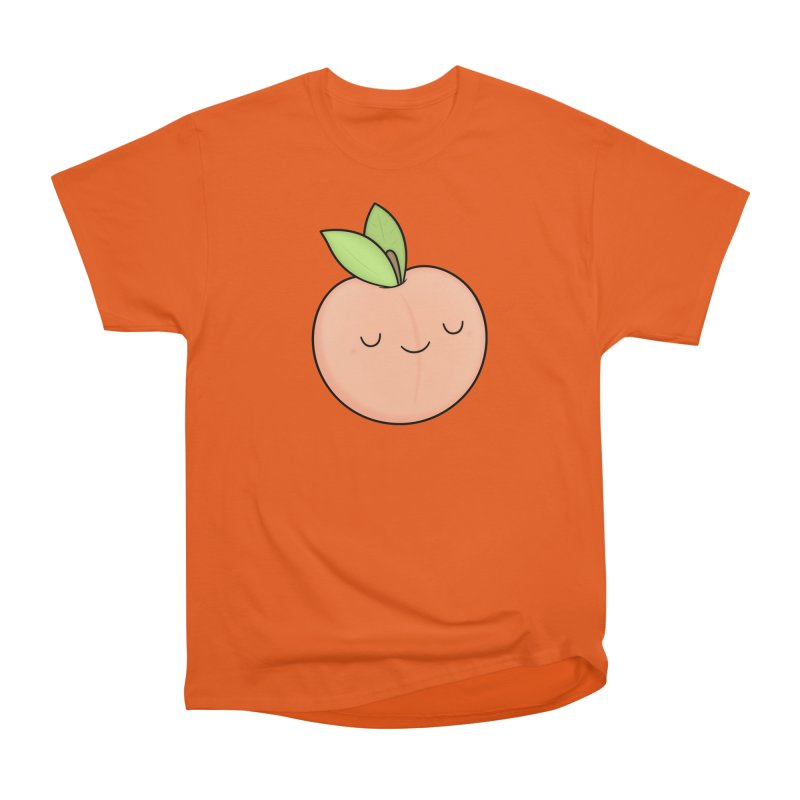 Peach! Men's T-Shirt by Kim Vervuurt