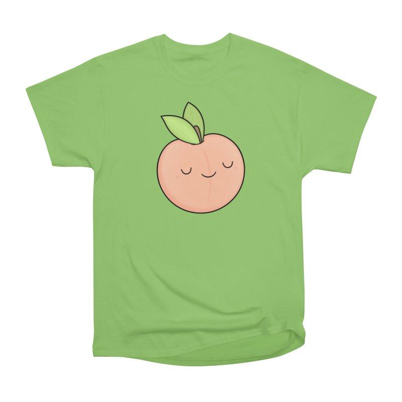 Peach! Women's Heavyweight Unisex T-Shirt by Kim Vervuurt