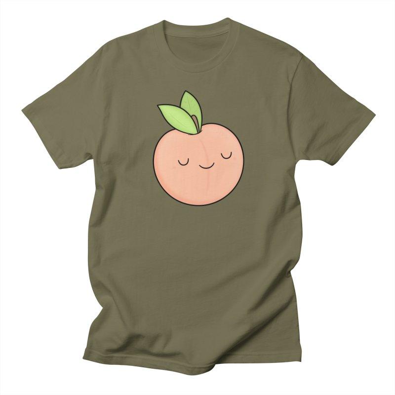 Peach! Men's Regular T-Shirt by Kim Vervuurt