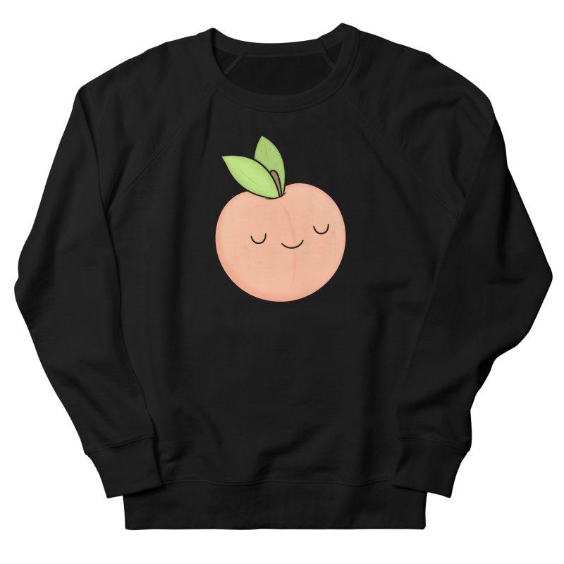Peach! Women's French Terry Sweatshirt by Kim Vervuurt