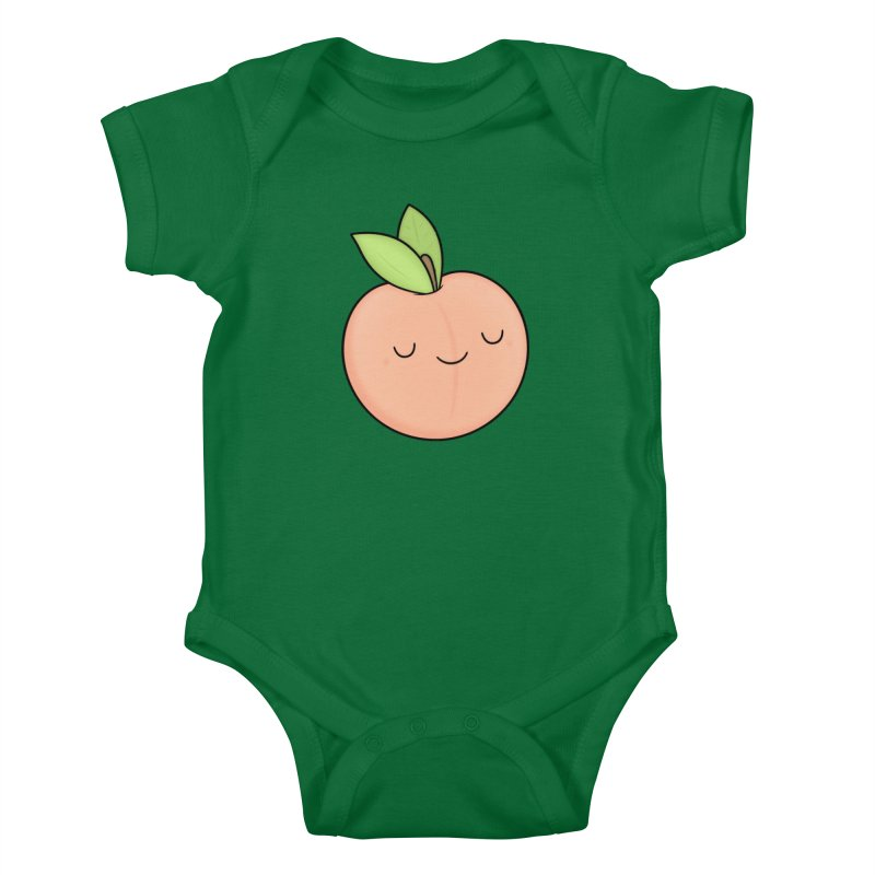 Peach! Kids Baby Bodysuit by Kim Vervuurt