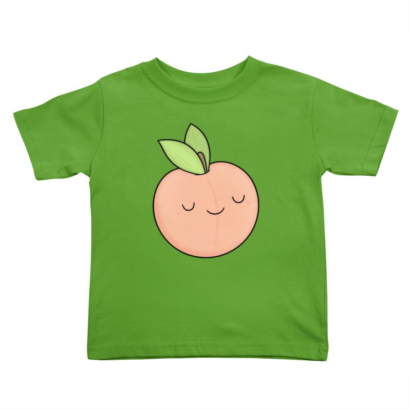 Peach! Kids Toddler T-Shirt by Kim Vervuurt