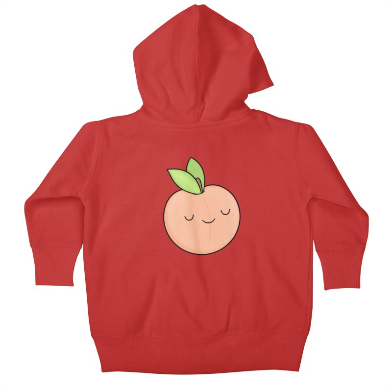 Peach! Kids Baby Zip-Up Hoody by Kim Vervuurt