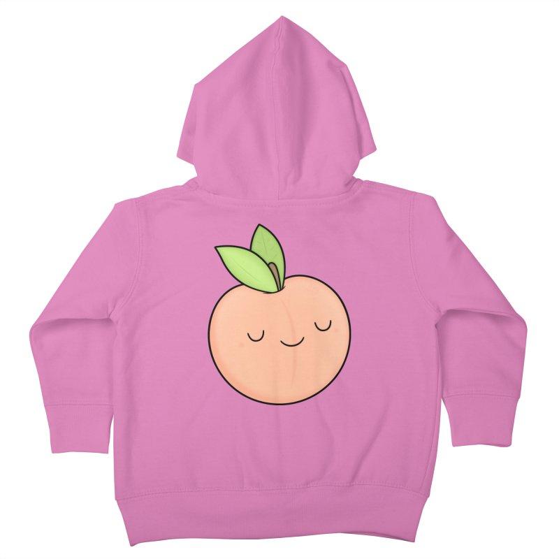 Peach! Kids Toddler Zip-Up Hoody by Kim Vervuurt
