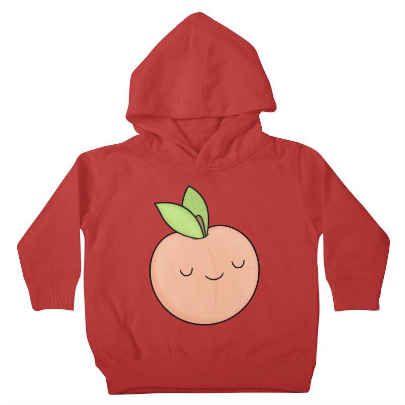 Peach! Kids Toddler Pullover Hoody by Kim Vervuurt
