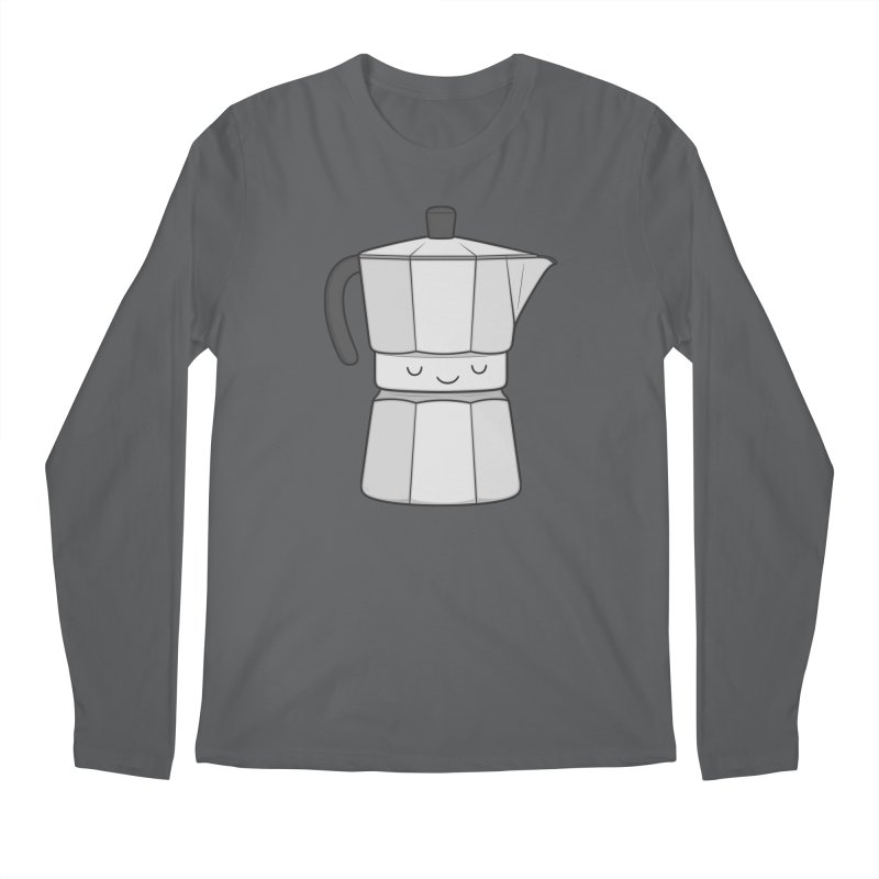 Coffee Men's Longsleeve T-Shirt by Kim Vervuurt