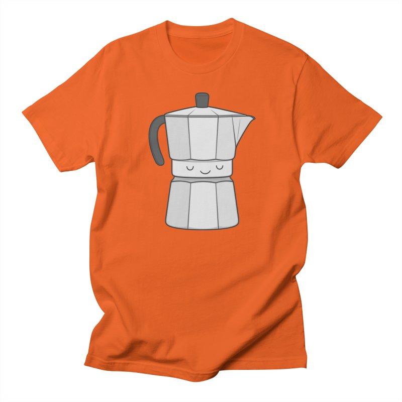 Coffee Men's T-Shirt by Kim Vervuurt