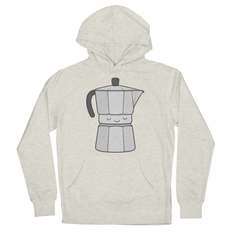 Coffee Men's Pullover Hoody by Kim Vervuurt
