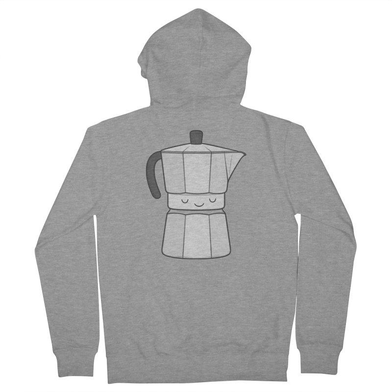 Coffee Women's Zip-Up Hoody by Kim Vervuurt