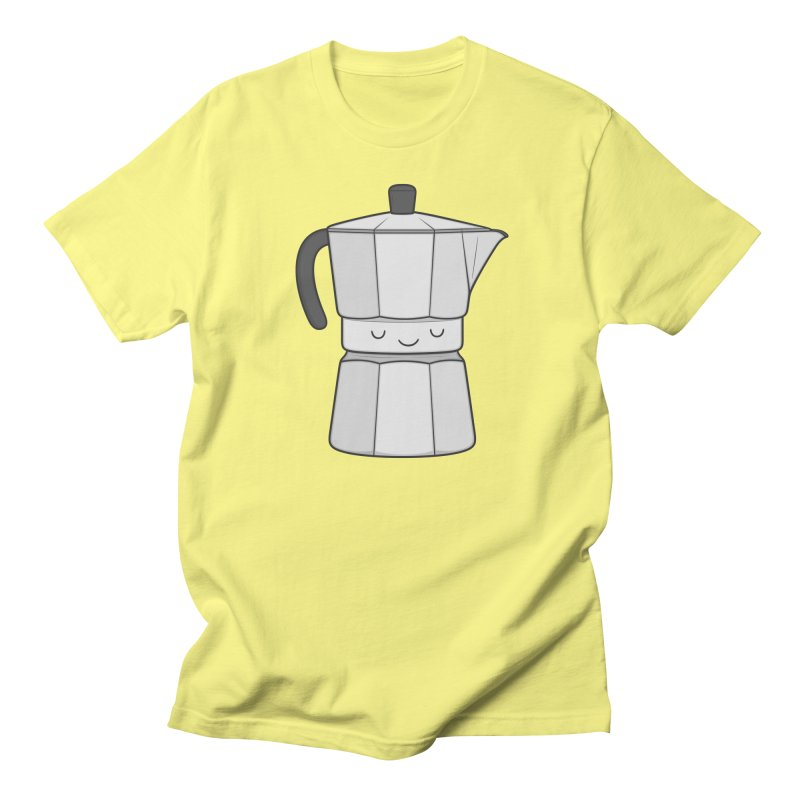 Coffee Men's T-Shirt by Kim Vervuurt