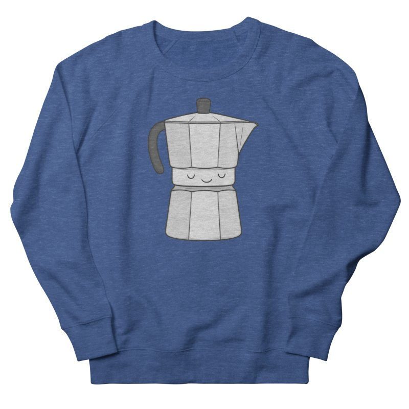 Coffee Women's French Terry Sweatshirt by Kim Vervuurt