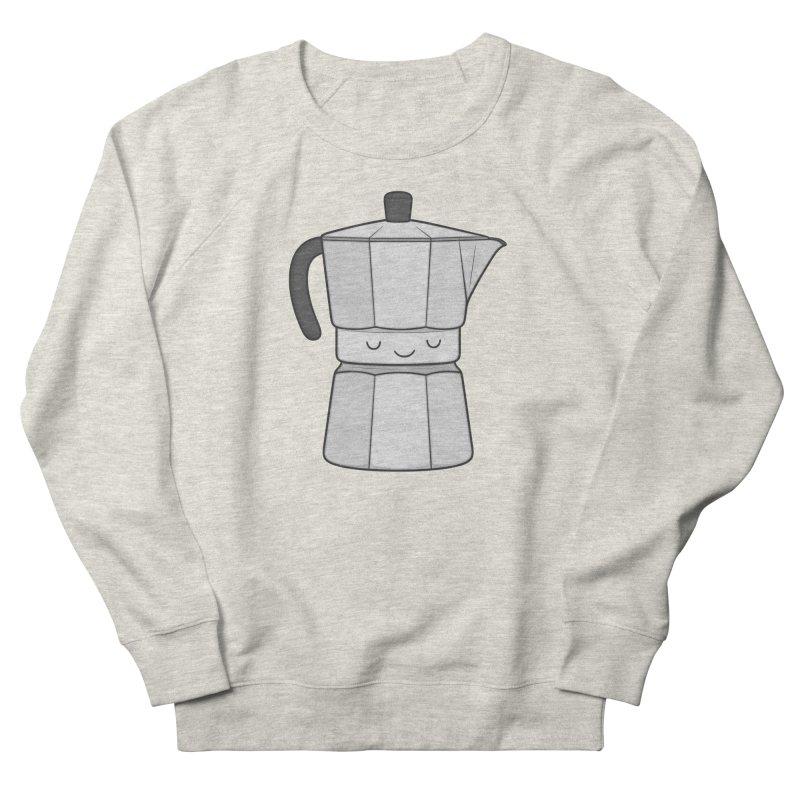 Coffee Men's Sweatshirt by Kim Vervuurt
