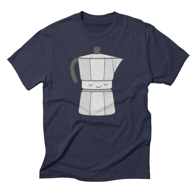 Coffee Men's Triblend T-shirt by Kim Vervuurt