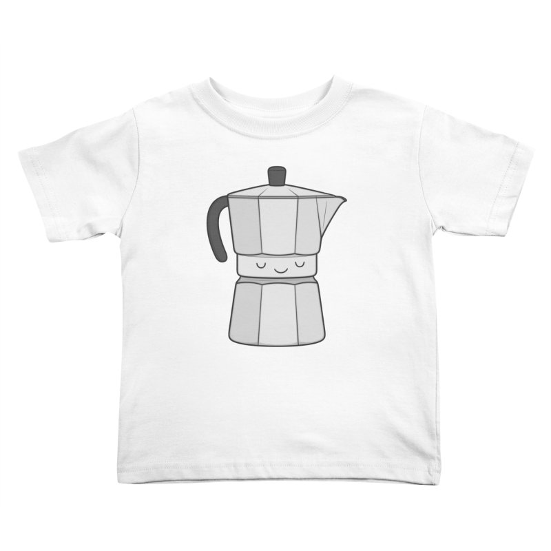 Coffee Kids Toddler T-Shirt by Kim Vervuurt