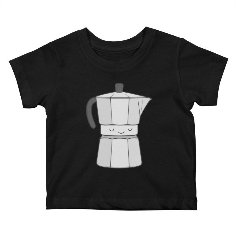 Coffee Kids Baby T-Shirt by Kim Vervuurt