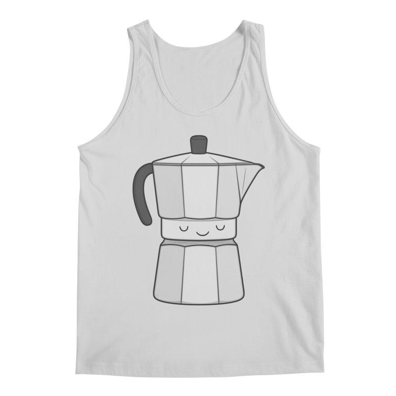 Coffee Men's Tank by Kim Vervuurt