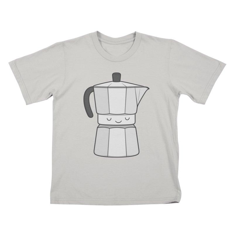 Coffee Kids T-shirt by Kim Vervuurt