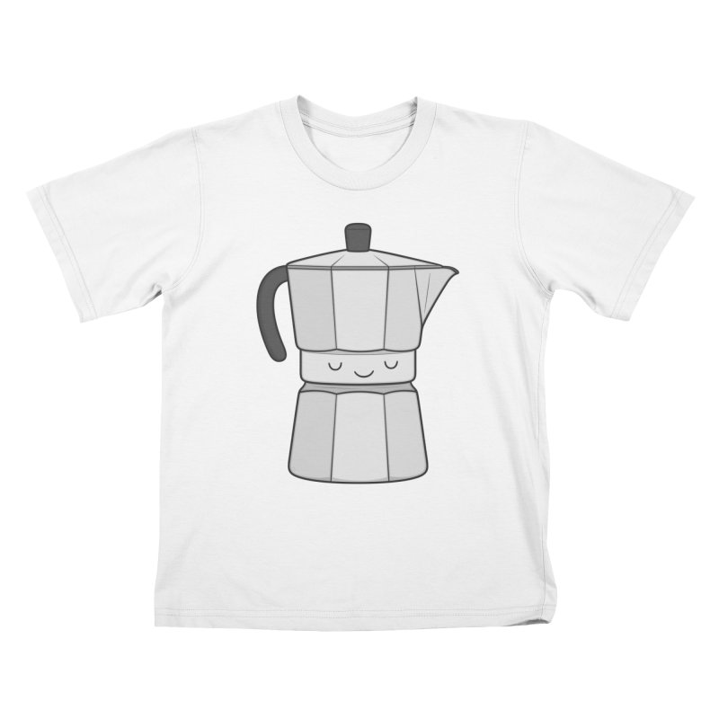 Coffee Kids T-shirt by Kim Vervuurt