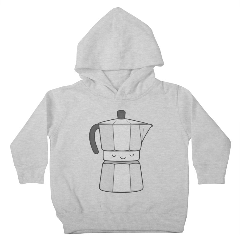 Coffee Kids Toddler Pullover Hoody by Kim Vervuurt