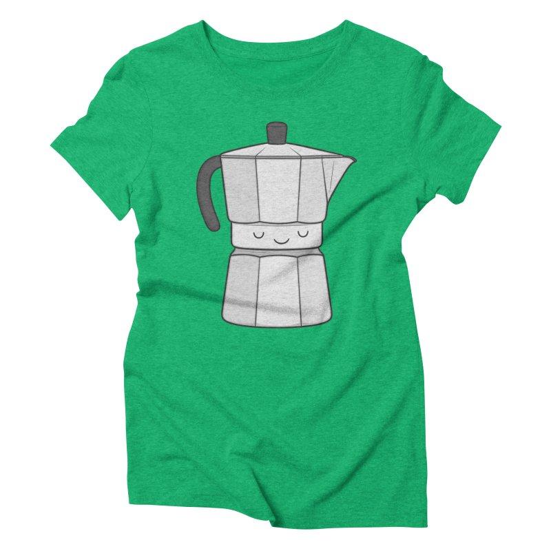 Coffee Women's Triblend T-shirt by Kim Vervuurt