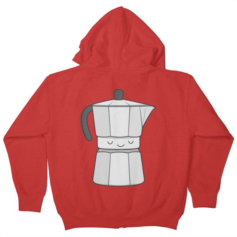 Coffee Kids Zip-Up Hoody by Kim Vervuurt