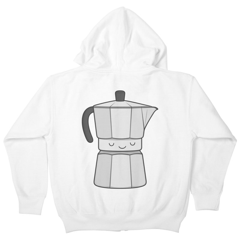 Coffee Kids Zip-Up Hoody by Kim Vervuurt