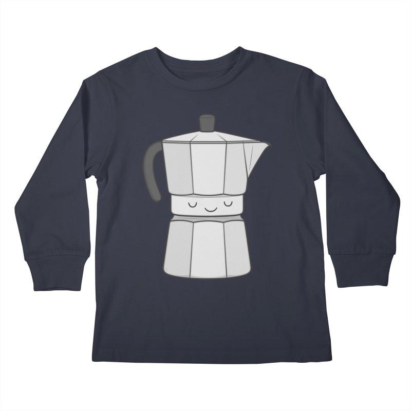 Coffee Kids Longsleeve T-Shirt by Kim Vervuurt