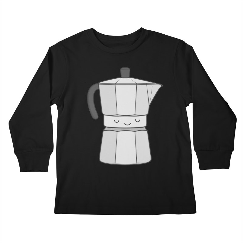 Coffee Kids Longsleeve T-Shirt by Kim Vervuurt
