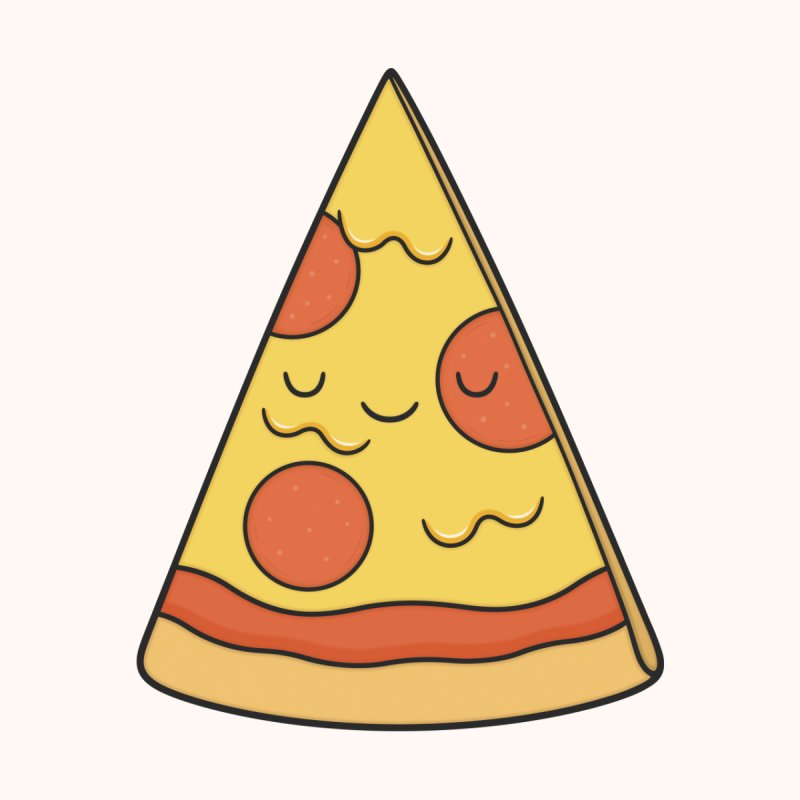 Pizza Men's Tank by Kim Vervuurt