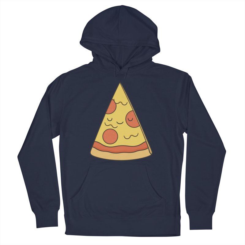 Pizza Men's Pullover Hoody by Kim Vervuurt
