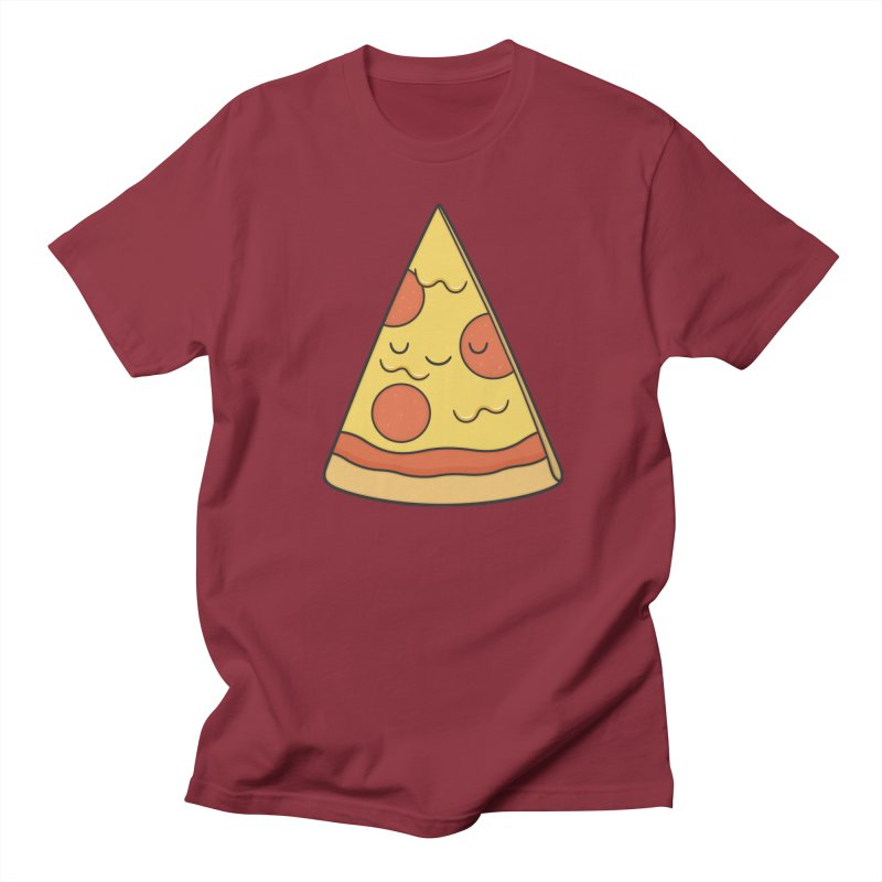 Pizza Men's T-Shirt by Kim Vervuurt