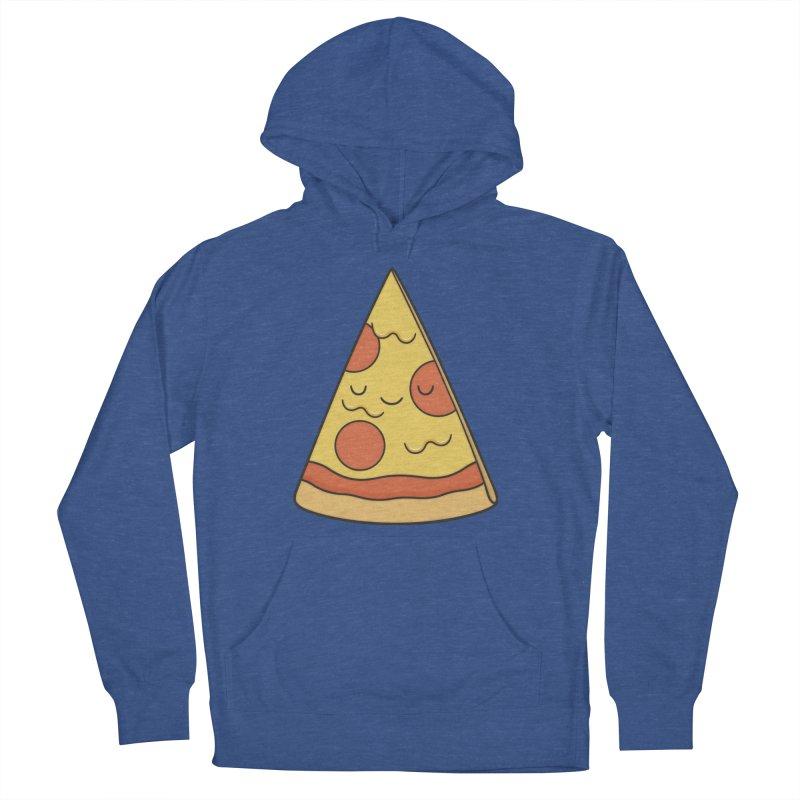 Pizza Men's Pullover Hoody by Kim Vervuurt