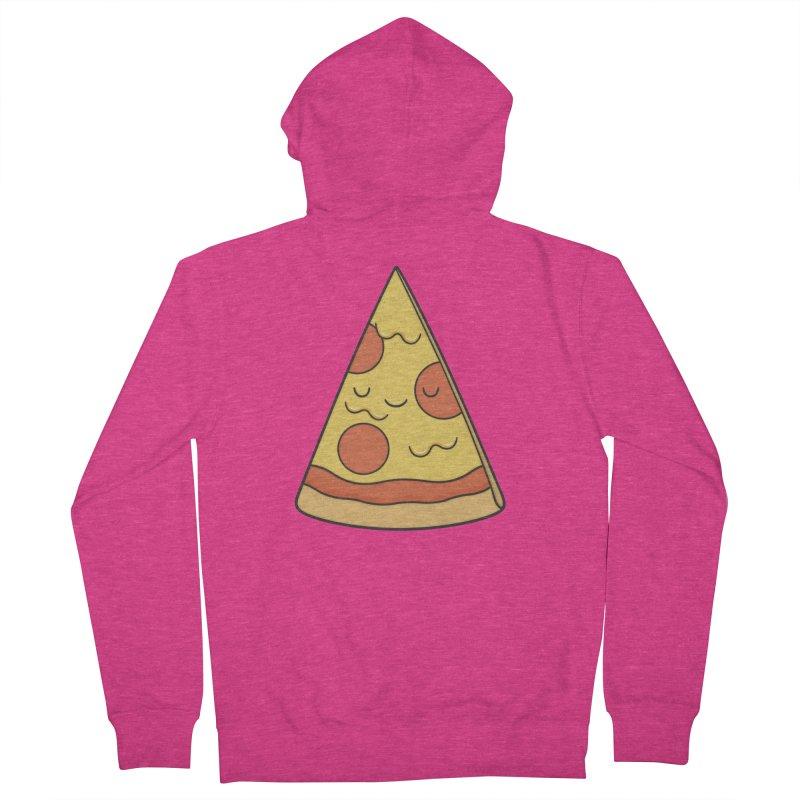 Pizza Women's Zip-Up Hoody by Kim Vervuurt