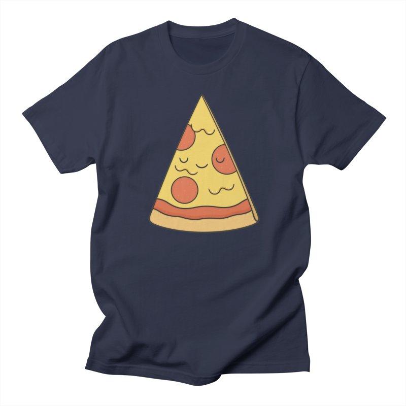 Pizza Men's T-Shirt by Kim Vervuurt