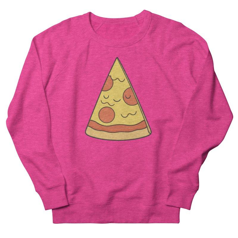 Pizza Women's Sweatshirt by Kim Vervuurt