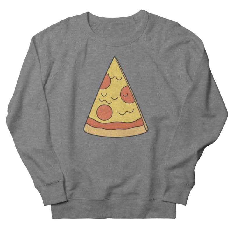 Pizza Men's Sweatshirt by Kim Vervuurt