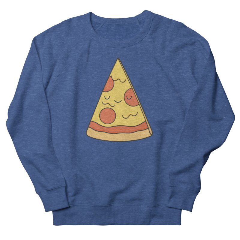 Pizza Men's Sweatshirt by Kim Vervuurt